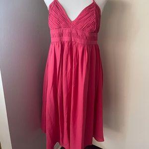 Belly Basics silk dress, SZ Med NWT